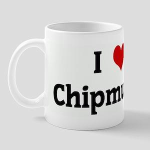 I Love Chipmunks Mug