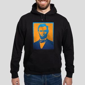 Abraham Lincoln Pop Art Hoodie