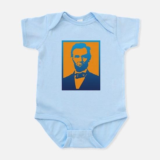 Abraham Lincoln Pop Art Body Suit