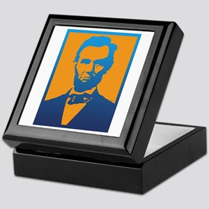 Abraham Lincoln Pop Art Keepsake Box