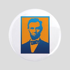 "Abraham Lincoln Pop Art 3.5"" Button"
