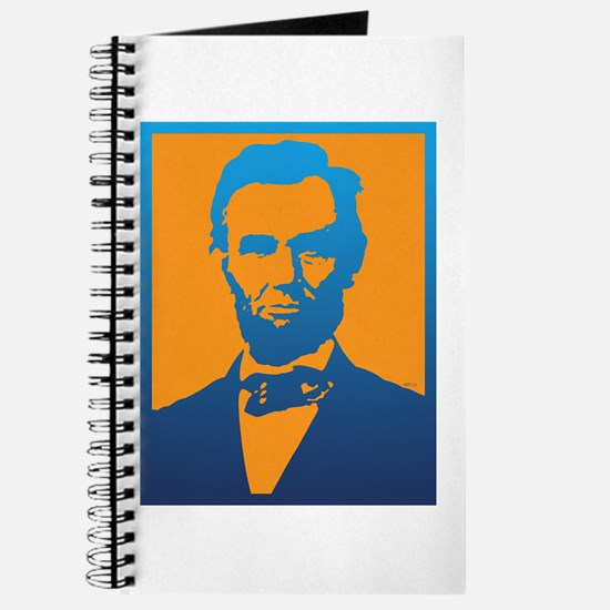 Abraham Lincoln Pop Art Journal