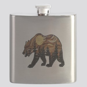 MOUNTAIN HIGHS Flask