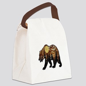 MOUNTAIN HIGHS Canvas Lunch Bag