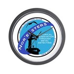 Nor'easters Club Wall Clock