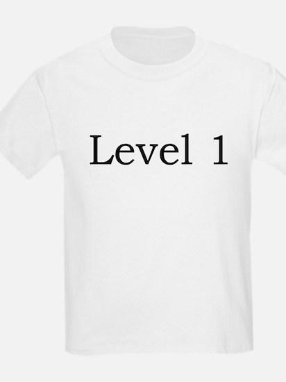 Kids T-Shirt, Level 1