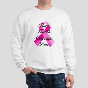 Pink Ribbon Sweatshirt