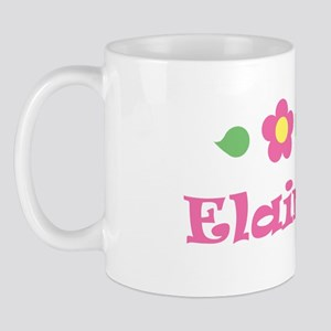 "Pink Daisy - ""Elaina"" Mug"