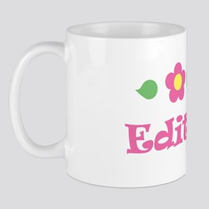 "Pink Daisy - ""Edith"" Mug"