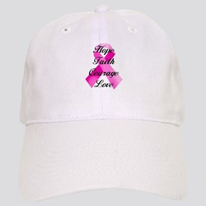 Pink Ribbon Baseball Cap