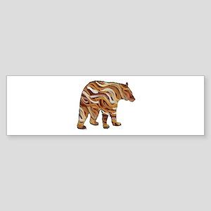 BEAR TRUE Bumper Sticker