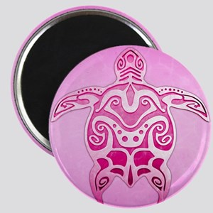 Pink Polynesian Turtle Magnets