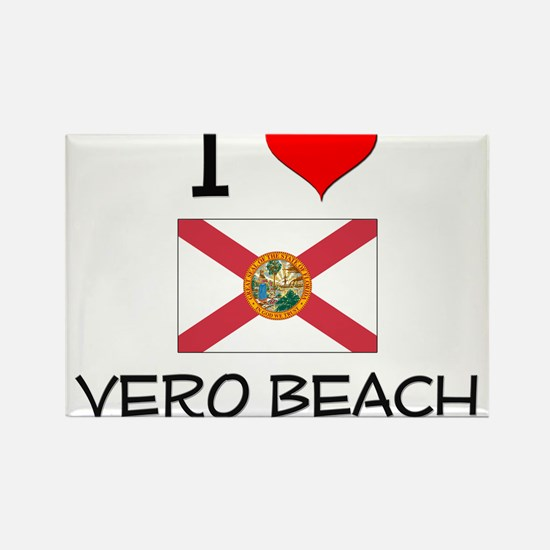I Love VERO BEACH Florida Magnets