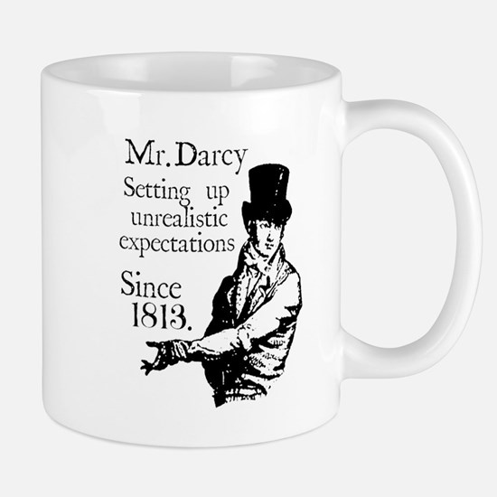 Mr. Darcy Mugs