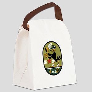 VA-45 Blackbirds Canvas Lunch Bag