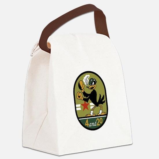 VA-45 Blackbirds.png Canvas Lunch Bag