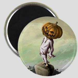A M Pie Halloween Magnet