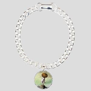 A M Pie Halloween Charm Bracelet, One Charm