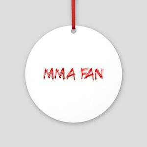 MMA Fan Ornament (Round)