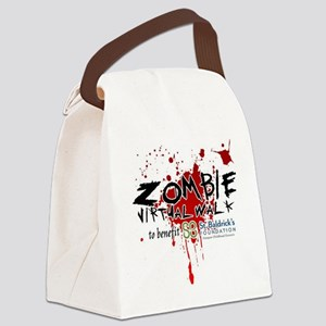 Virtual Zombie Walk for St. Baldr Canvas Lunch Bag