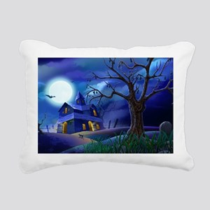 A Halloween Christmas Rectangular Canvas Pillow