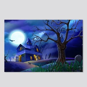 A Halloween Christmas Postcards (Package of 8)