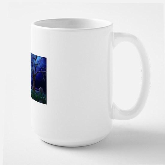 A Halloween Christmas Large Mug