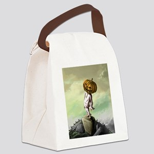 A M Pie Halloween Canvas Lunch Bag