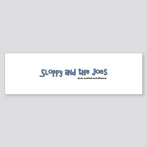 Sloppy and the Joes Logo Bumper Sticker
