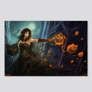 Halloween Witches Spell Postcards (Package of 8)