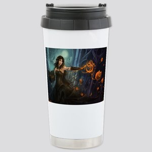Halloween Witches Spell Stainless Steel Travel Mug