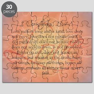 1 Corinthians Love Bible Verse Puzzle