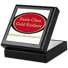 Gold Rusher Logo Keepsake Box