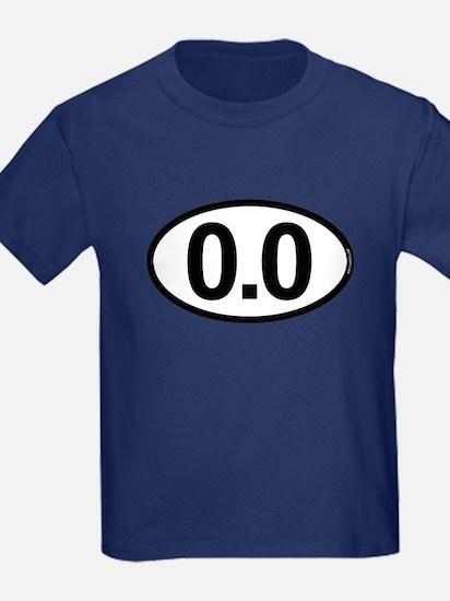 0.0 Zero Marathon Runner T
