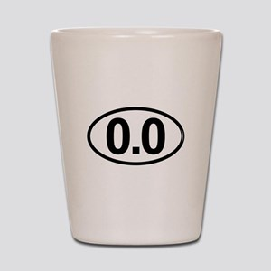 0.0 Zero Marathon Runner Shot Glass
