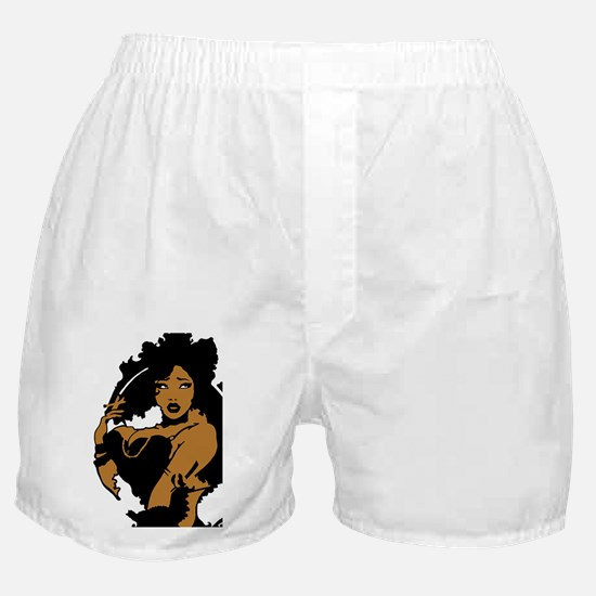 Pinup - Sexy Smoking Pinup Girl Boxer Shorts