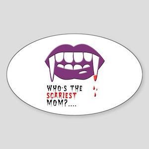 Vampire Mom Sticker