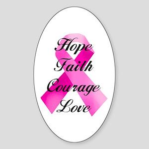 Pink Ribbon Sticker
