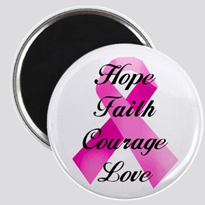 Pink Ribbon Magnets