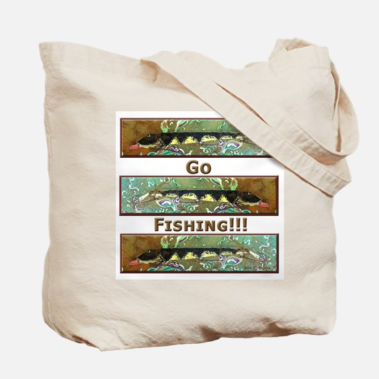 Muskellunge<br>Tote Bag-2 SIDED!
