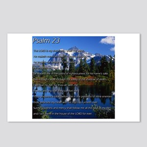 Psalm 23 Postcards (Package of 8)