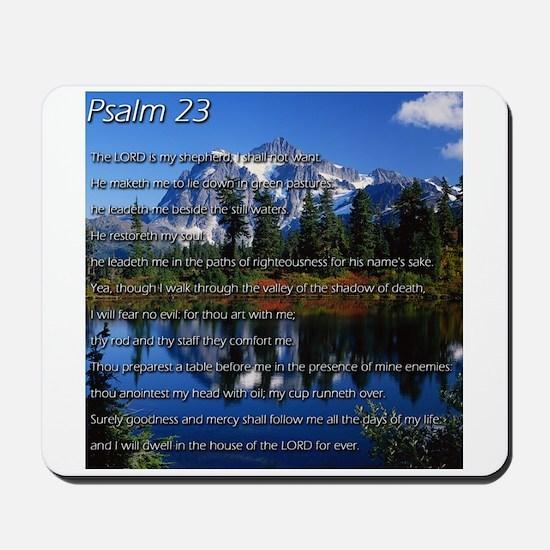 Psalm 23 Mousepad