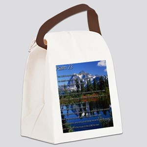 Psalm 23 Canvas Lunch Bag