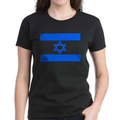 isreal flag, flag of isreal, Women's Dark T-Shirt
