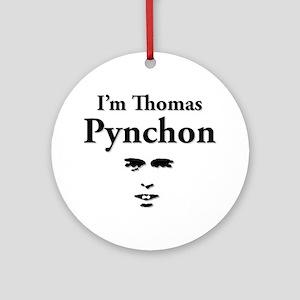 Thomas Pynchon Round Ornament