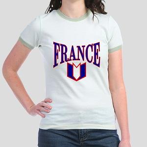 FRANCE SHIRT FRANCE T-SHIRT F Jr. Ringer T-Shirt