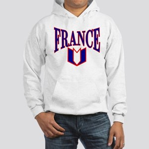 FRANCE SHIRT FRANCE T-SHIRT F Hooded Sweatshirt