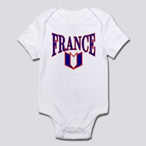 FRANCE SHIRT FRANCE T-SHIRT F Infant Bodysuit