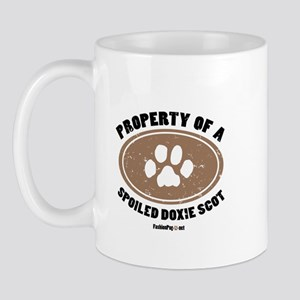 Doxie Scot  dog Mug