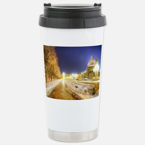 Greatest Building Ever Stainless Steel Travel Mug